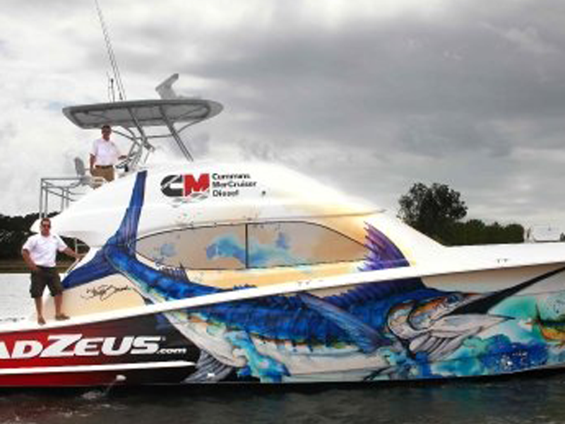Boat Wraps Wilmington